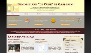 Sito web Immobiliare Le Cure Firenze